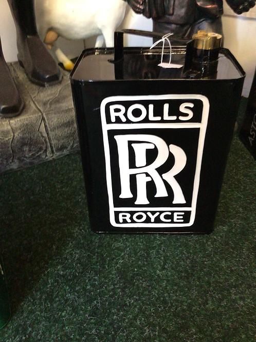 Rolls Royce petrol can