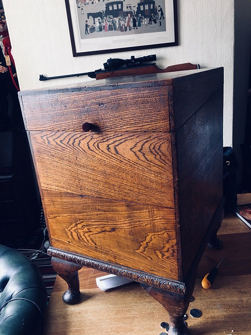 Vintage Record Box