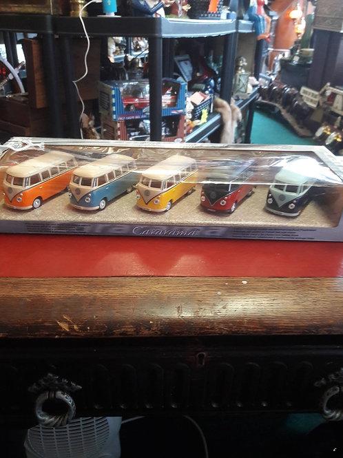 Cararama collection VW Camper Vans