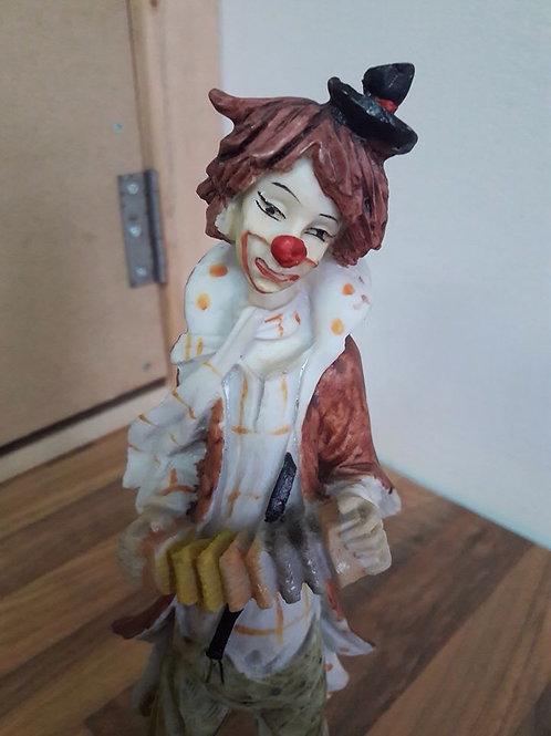 Busking Clown Figure