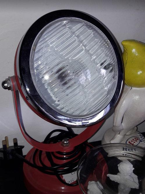 Retro red spot light
