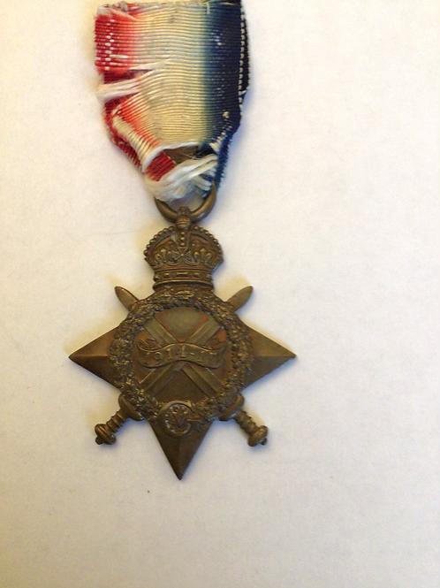 Ww1 1914 - 1915 star
