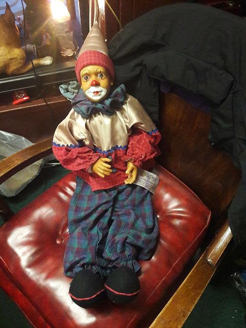 Kasma collection porcelain clown