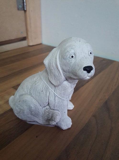 Welsh Stonecraft White Dog