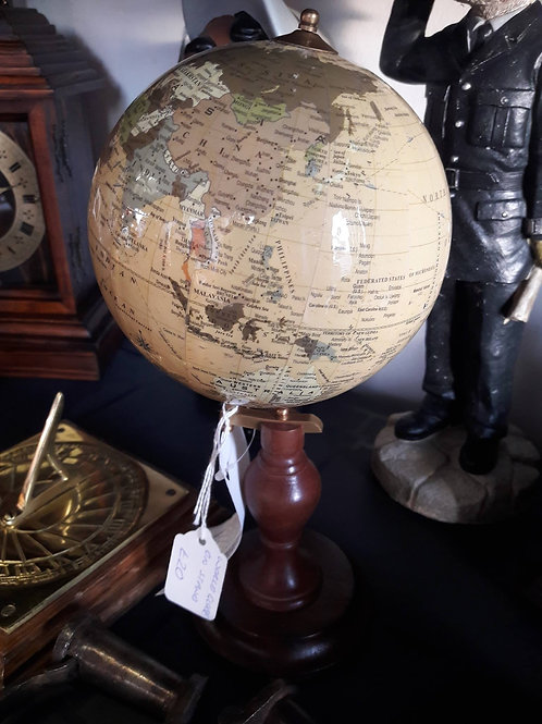 Small globe on stand