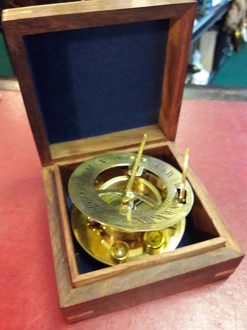 Hatton Garden sundial/compass.