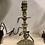 Thumbnail: Cherub brass candle stick lamp