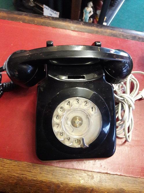 Black Rotary Telephone  series 622