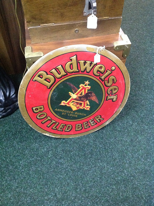 1995 Tin Enamelled Budweiser Sign