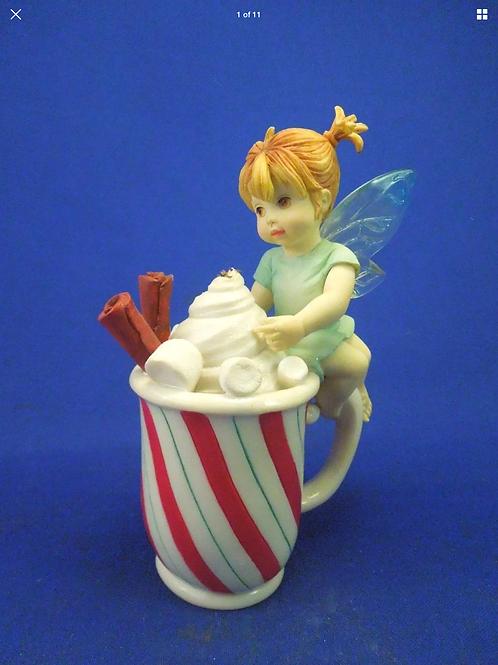 "Enesco My Little Kitchen Fairies ""Hot Chocolate Fairie"