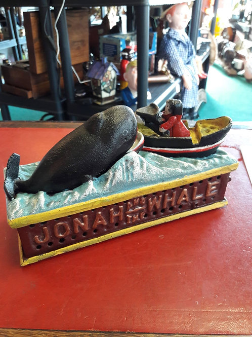Jonah and the Whale Money Bank