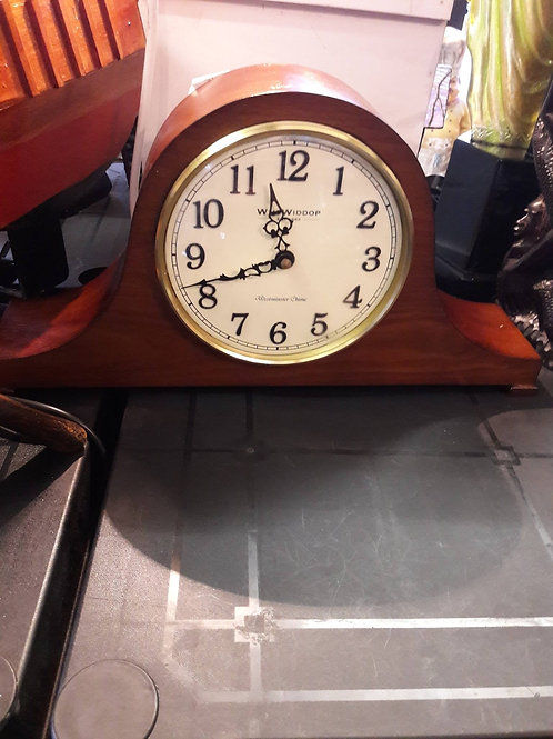 Napoleon mantle clock.  Battery operated.  Westminster Chime.