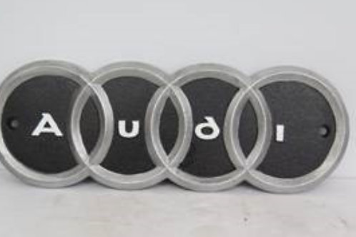 Audi cast iron sign