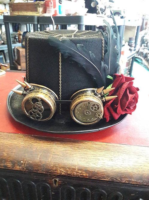 Ladies steam punk hat