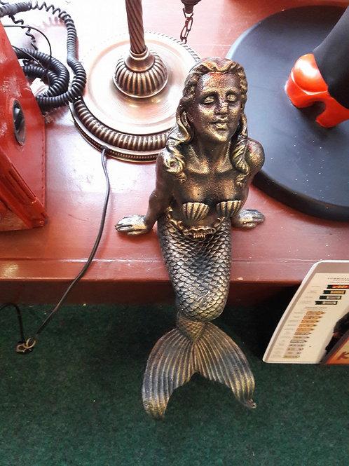 Cast iron mermaid