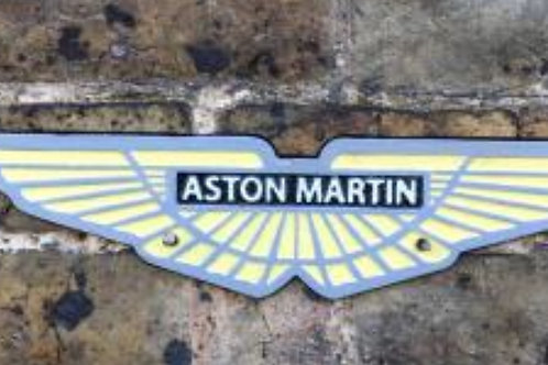 Austin Martin cast iron sign