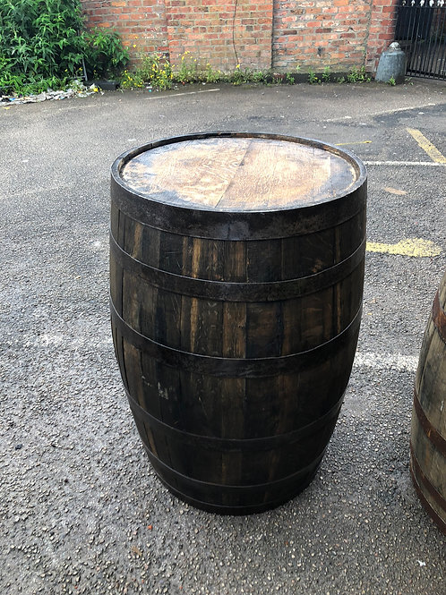 53 gallon whiskey barrel