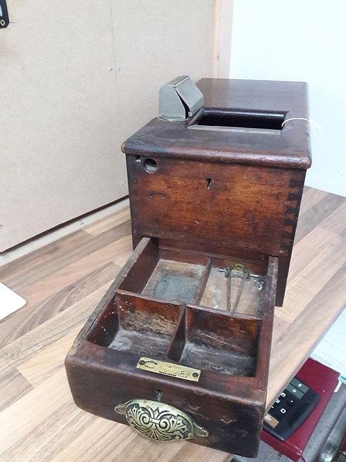 Vintage Wooden Shop Cash Register