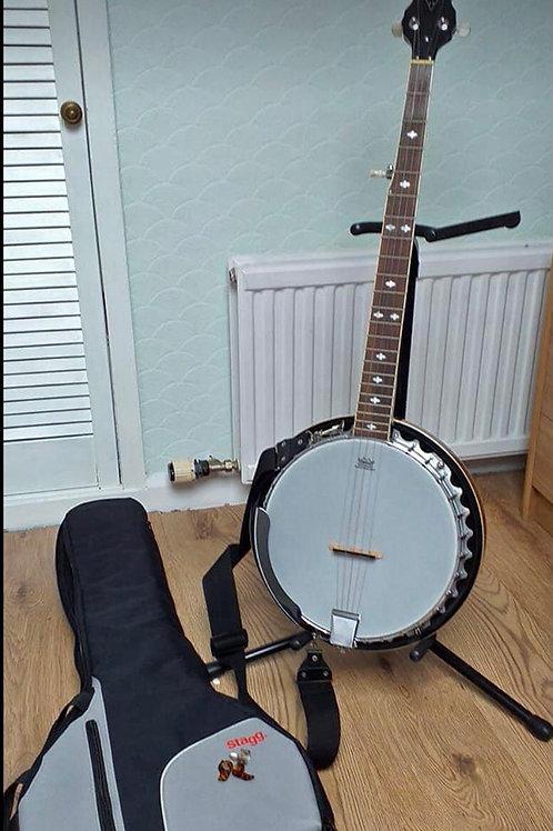 Redwood 5 string banjo