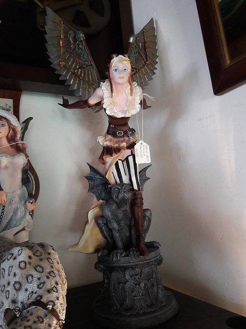 Steam Punk Angel and Gargoyle