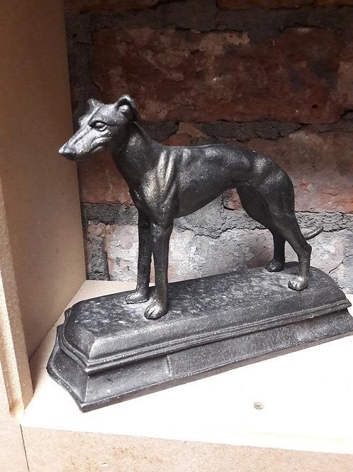 Cast iron grey hound