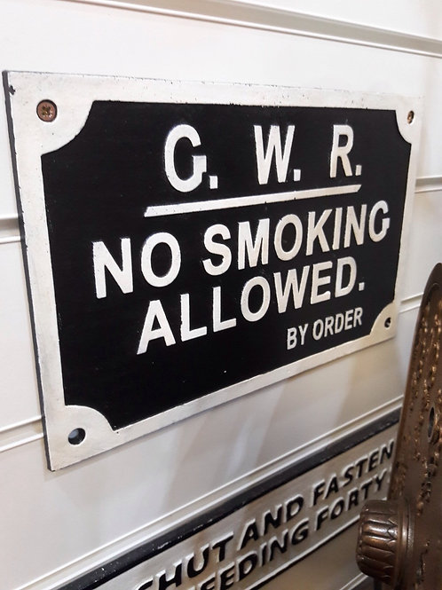Great Wester Railway Sign