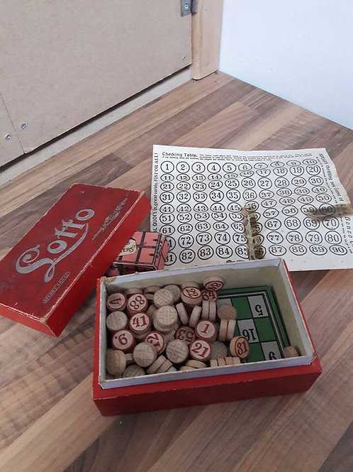 Early 1900's Lotto/Ludo Games