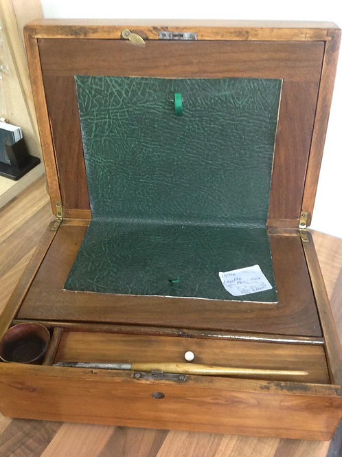 Wood/Leather Writing Box
