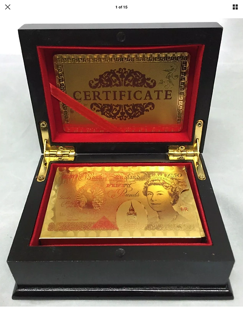 24K GOLD PLATED POKER PLAYING CARDS FULL POKER DECK