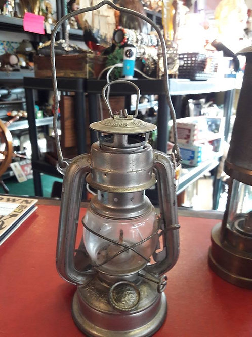 Small paraffin lamp.