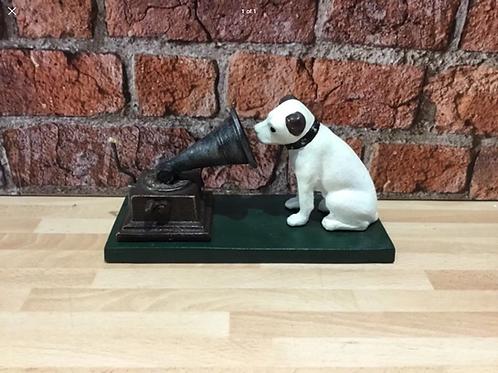 Cast iron hmv dog