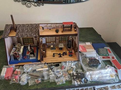 Live steam engine work shop
