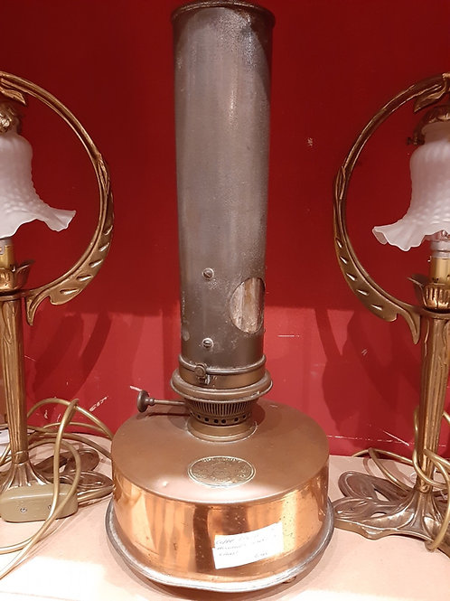Copper Holland's Paraffin Lamp