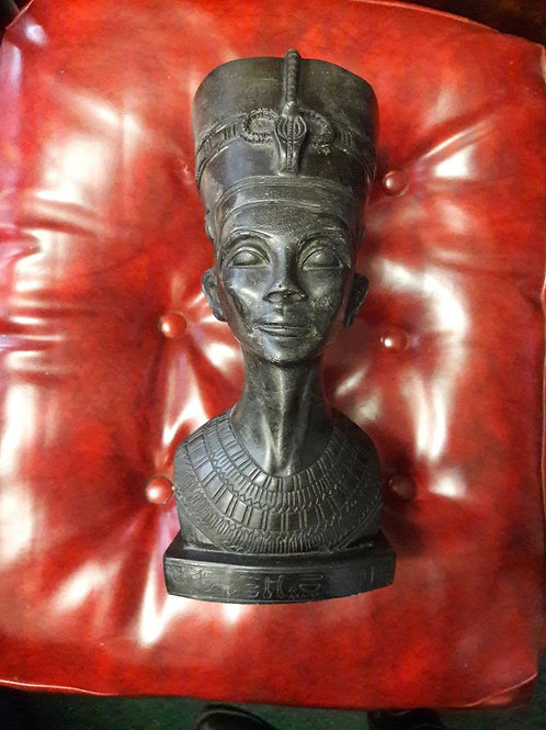 Heavy Egyptian head of Nefertiti