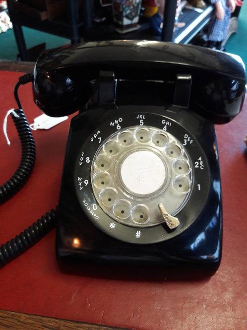 Steepletone  lack Rotary Telephone Model  STP1960