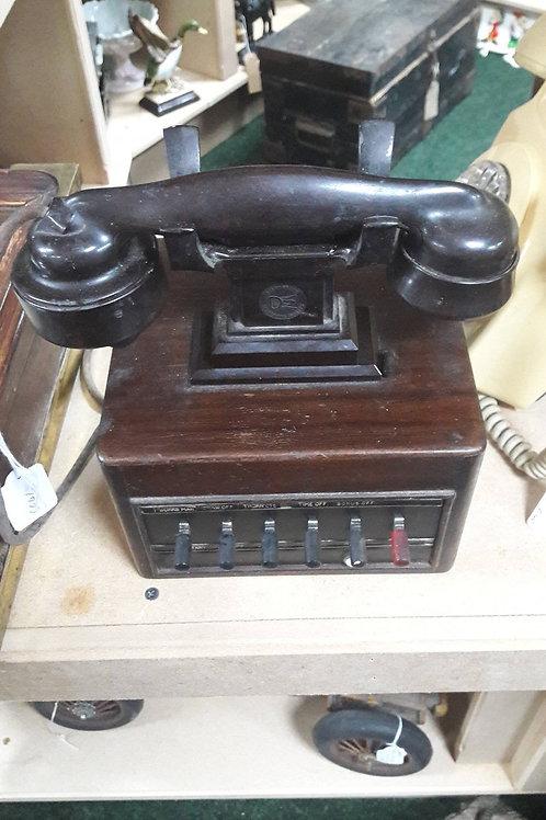 Vintage call exchange 1940s telephone