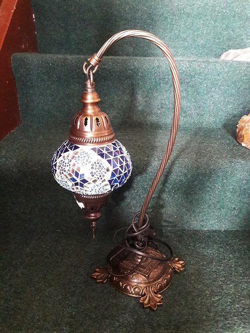 Blue Drop Moroccan Lamp