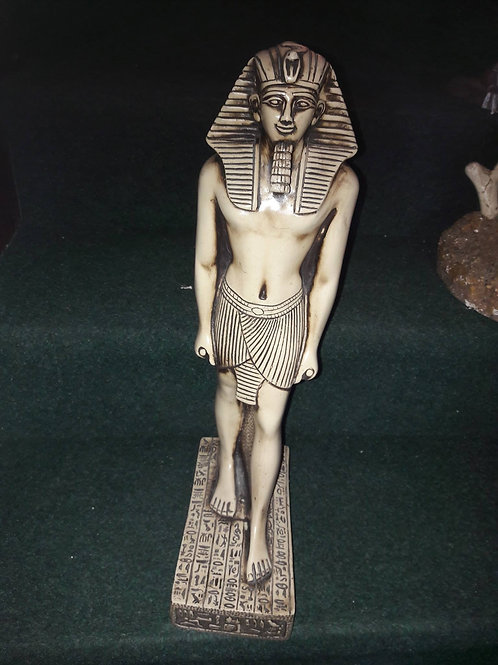 Marble Egyptian figure
