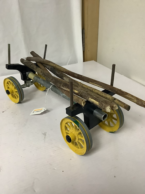 Vintage mamod lumber waggon