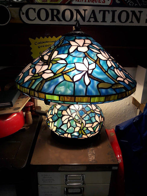 Special edition Blue Floral Lamp