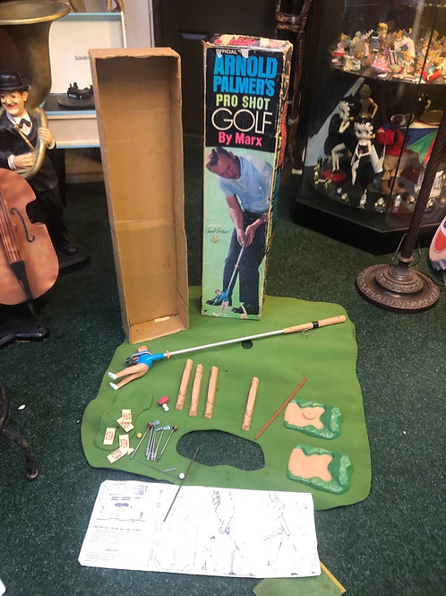 Pro shot golf game