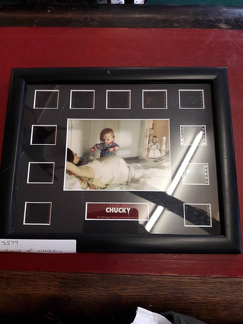 Limited Edition framed film cells from 'Seed of Chucky.