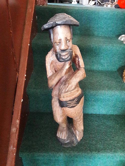 Carved Wooden Man