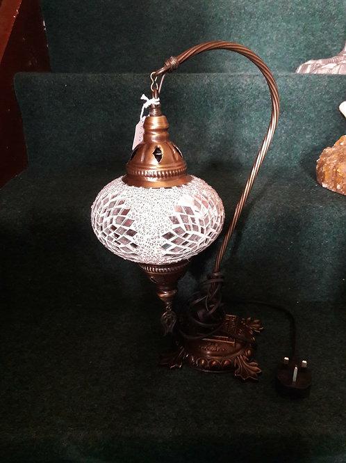 White Drop Moroccan Lamp