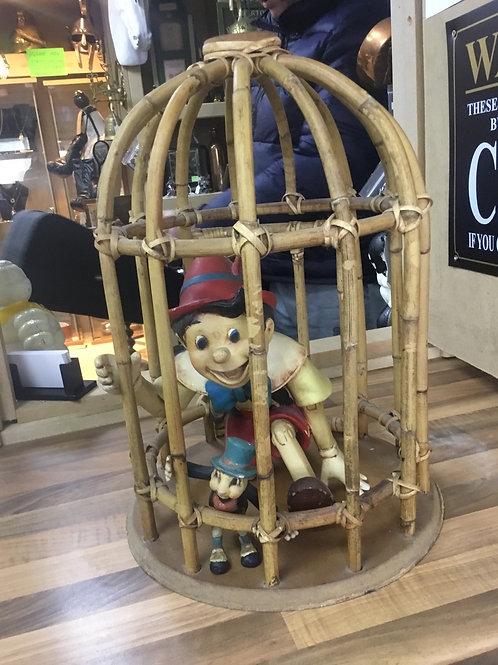 Rare Pinocchio  and jimini cricket