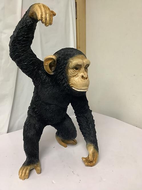 Life size Fiberglass hanging chimp