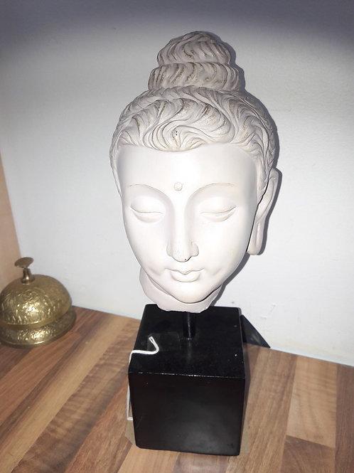 Buddha Head on Plinth