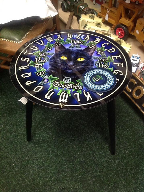 Lisa Parker spirit board table