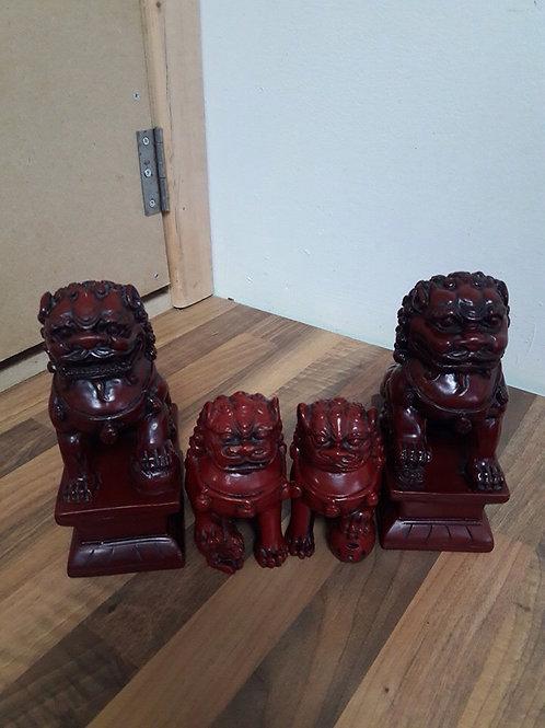 Set of 4 Foo Dragons