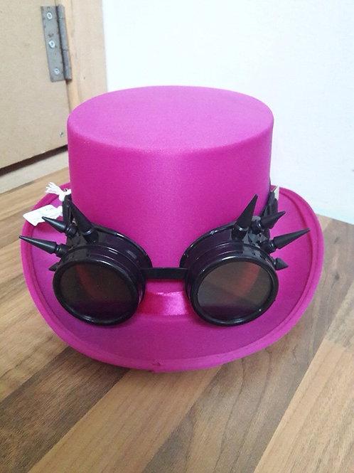 Pink Steam Punk Hat